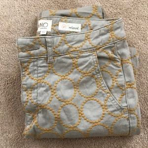 NWOT Anthropologie Relaxed Chinos